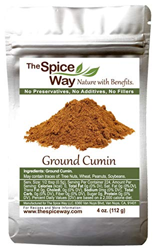The Spice Way Ground Cumin - powder made