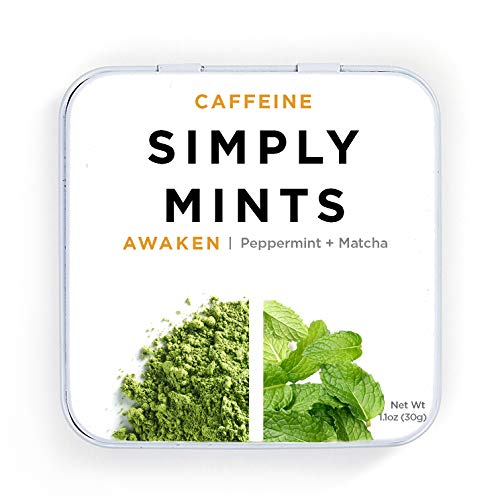 Simply Mints | Awaken Natural Caffeine Breath Mints