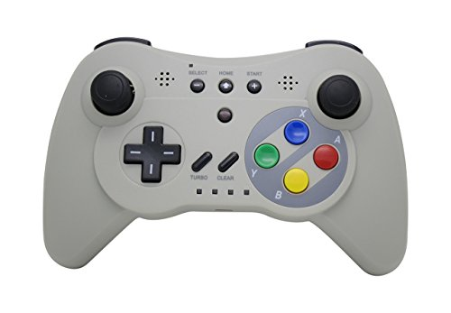 NEXiLUX Wireless 3 Pro Controller Gamepad for Nintendo Wii U