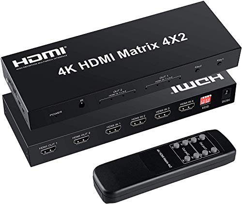 FERRISA 4x2 HDMI Matrix Switch