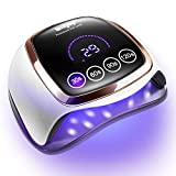 Gel UV LED Nail Lamp, 168W UV LED Nail...