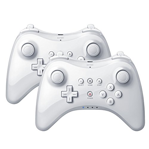 QUMOX 2X White Wireless Bluetooth Remote U Pro Controller