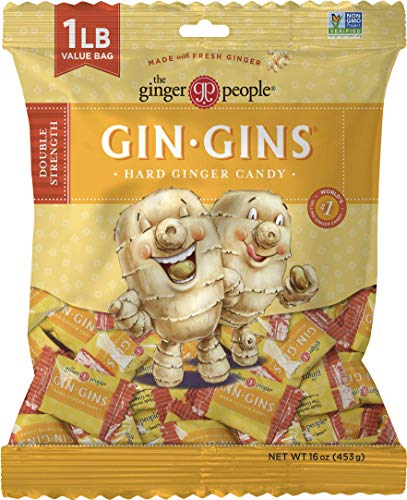 The Ginger People Gin Gins Double-Strength Anti-Nausea Hard Candy