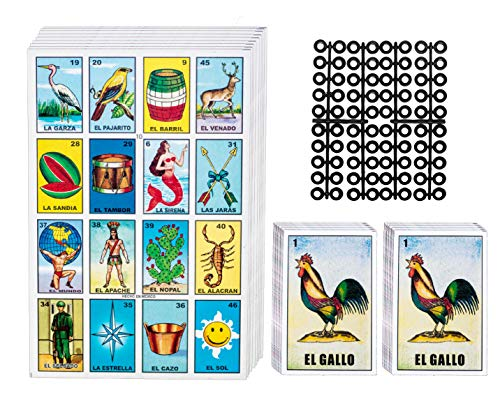 Loteria Mexican Bingo Game Kit