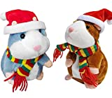 Tockrop 2 Pack Talking Hamster Mouse...